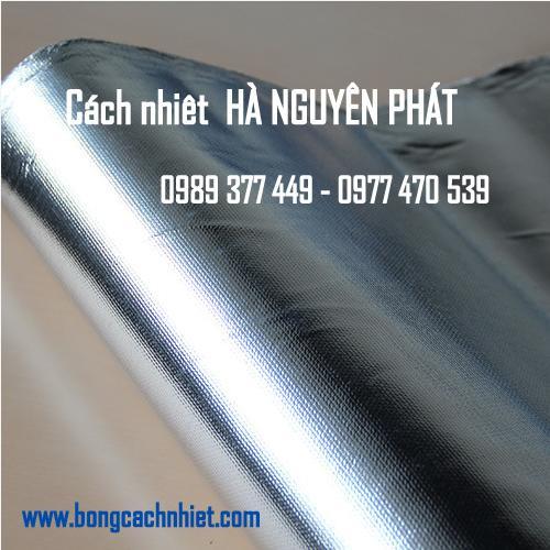 VẢI THỦY TINH TRÁNG BẠC ( Aluminum Glass Gloth)